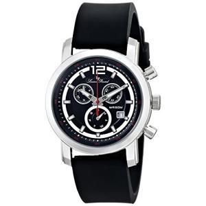 当店1年保証 ルシアンピカールLucien Piccard Men's LP-12585-01 Toules Analog Display Swiss Quartz Black Watch planetdream