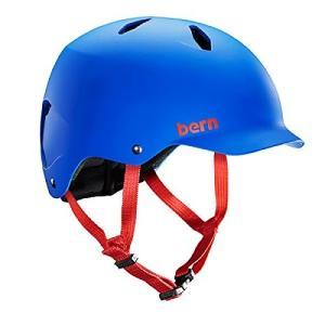 ウォーターヘルメットBERN - Summer Bandito EPS Helmet, Matte Cobalt Blue, M/L planetdream