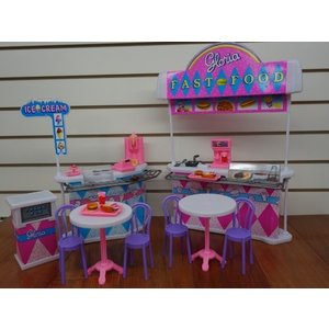 1/6ドールIvory Gloria Fast-Food Play Set.|planetdream