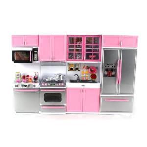 1/6ドール'Deluxe Modern Kitchen' Battery Operated Toy Kitchen Playset, Perfect for Use with 11.5