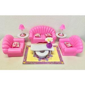 1/6ドールGloria Dollhouse Furniture Living Room Playset|planetdream