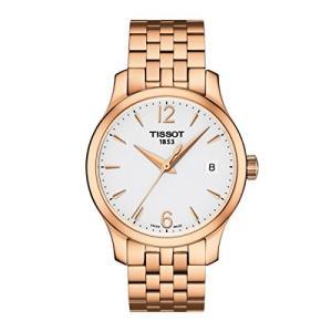 当店1年保証 ティソTissot T063.210.33.037.00 Women's Watch Tradition Rose Gold 33mm Stainless Steel|planetdream