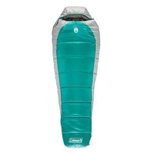 アウトドアColeman Big & Tall Sleeping Bag,  0 Degree Fahrenheit Mummy Sleeping Bag, Silverton Cold-Weather Camping Sleeping B|planetdream