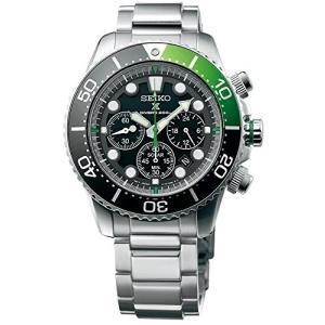 当店1年保証 セイコーSEIKO Prospex Sea Diver's 200m Chronograph Solar Sports Watch Green SSC615P1|planetdream