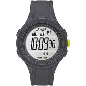 当店1年保証 タイメックスTimex Men's TW5M14500 Ironman Essential 30 Black/Lime Silicone Strap Watch|planetdream