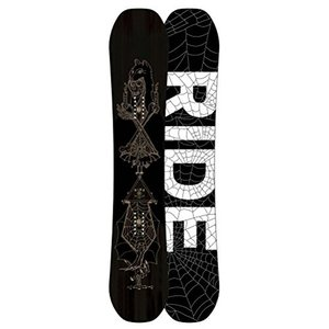 スノーボードRide Black-White 2018 Wild Life - 157Cm Snowboard (Default , Black)|planetdream
