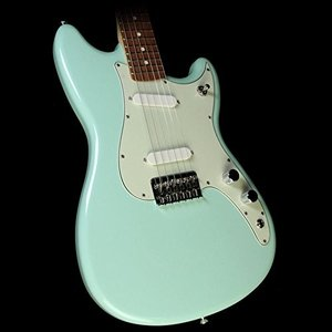 フェンダーFender Limited Edition Duo-Sonic Electric Guitar with Pau Ferro Fingerboard Surf Green|planetdream