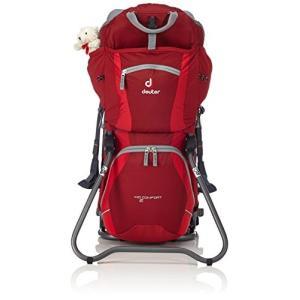 チャイルドバックパックDEUTER Kid Comfort 2 Backpack, Red/Grey planetdream