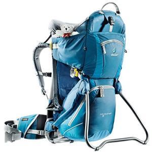 チャイルドバックパックDeuter Kid Comfort 2 Framed Child Carrier for Hiking, Artic/Denim planetdream