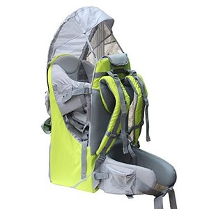 チャイルドバックパックNew Baby Toddler Hiking Backpack Carrier Stand Child Kid Sunshade Visor Shield Shield (green) planetdream