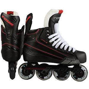 インラインスケートTour Hockey Code 7 Senior Inline Hockey Skate, Black, 05|planetdream