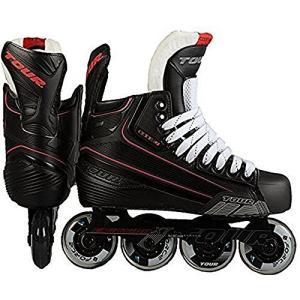 インラインスケートTour Hockey Code 7 Senior Inline Hockey Skate, Black, 11|planetdream