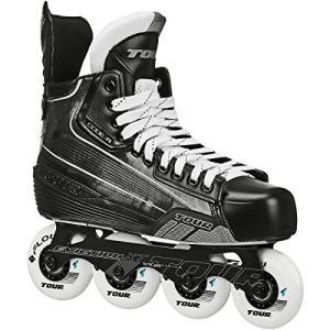 インラインスケートTour Code 5 Junior Inline Hockey Skates Black Size: 1 Black|planetdream
