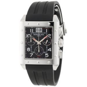 当店1年保証 レイモンドウィルRaymond Weil Men's 48811-SR-05200 Sporty Chronograph Watch|planetdream