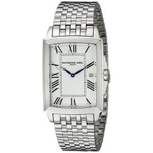当店1年保証 レイモンドウィルRaymond Weil Men's 5597-ST-00300 Tradition Analog Display Swiss Quartz Silver Watch|planetdream