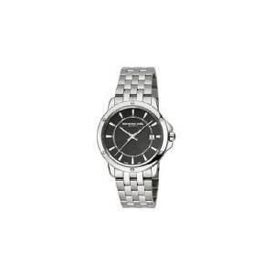 当店1年保証 レイモンドウィルRaymond Weil Tango Black Dial Stainless Steel Quartz Male Watch 5591-ST-20001|planetdream