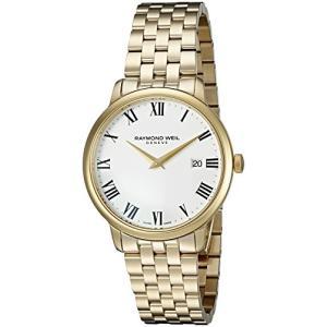 当店1年保証 レイモンドウィルRaymond Weil Men's 'Toccata' Swiss Quartz Stainless Steel and Dress Watch, Color:Gold-T|planetdream