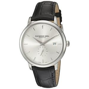 当店1年保証 レイモンドウィルRaymond Weil Men's 5484-STC-65001 Analog Display Quartz Black Watch|planetdream