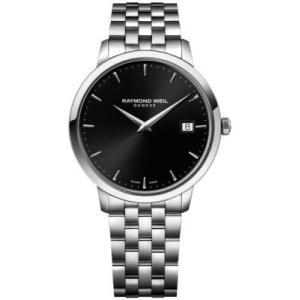 当店1年保証 レイモンドウィルRaymond Weil Toccata Swiss-Quartz Watch with Stainless-Steel Strap, Silver, 20 (Model:|planetdream