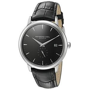 当店1年保証 レイモンドウィルRaymond Weil Men's 5484-STC-20001 Toccata Analog Display Quartz Black Watch|planetdream