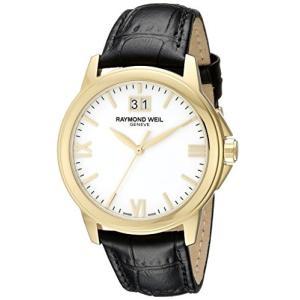 当店1年保証 レイモンドウィルRaymond Weil Men's 5476-P-00307 Analog Display Quartz Black Watch|planetdream
