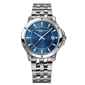 当店1年保証 レイモンドウィルRaymond Weil Tango Blue Dial Stainless Steel Mens Watch 5591-ST-50001|planetdream