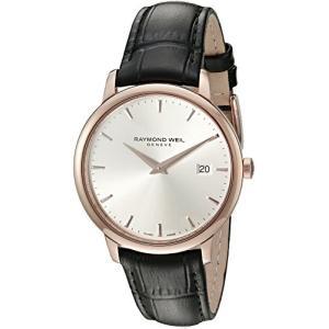 当店1年保証 レイモンドウィルRaymond Weil Men's 5488-PC5-65001 Analog Display Quartz Black Watch|planetdream