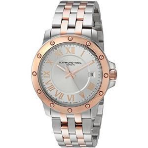 当店1年保証 レイモンドウィルRaymond Weil Men's Tango Swiss-Quartz Watch with Two-Tone-Stainless-Steel Strap, 11 (Mo|planetdream