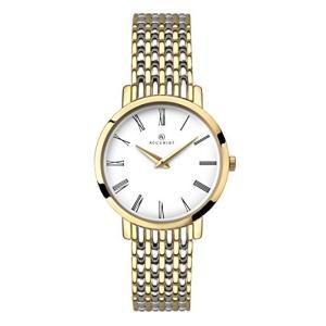 当店1年保証 アキュリストAccurist Ladies Analogue Watch With White Dial and Two Tone Stainless Steel Bracelet 8159|planetdream