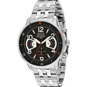 当店1年保証 アキュリストAccurist Men's Stainless Steel Bracelet Watch MB1020B.01|planetdream