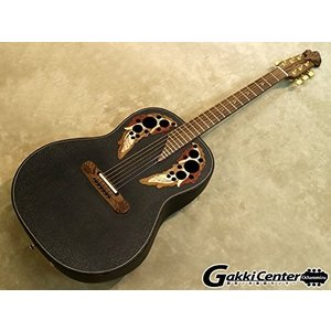 オベーションOvation 6 String Adamas, Black Carbon Fiber, Mid Depth w/Case Right Handed, Dreadnaught 1687GT-5|planetdream