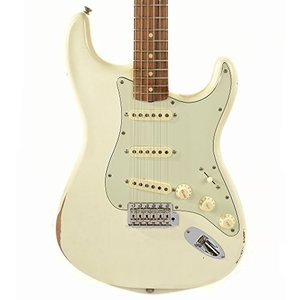 フェンダーFender Road Worn 60's Stratocaster Electric Guitar - Pau Ferro Fingebroard - Olympic White|planetdream