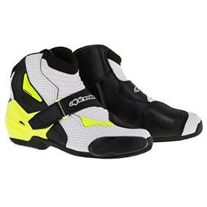 アルパインスターズAlpinestars SMX-1 R Vented Boots (48) (Black/White/Yellow)|planetdream