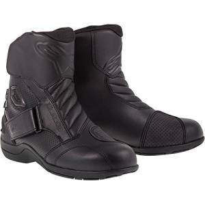 アルパインスターズAlpinestars Gunner Waterproof Men's Street Motorcycle Boots (Black, EU Size 36)|planetdream