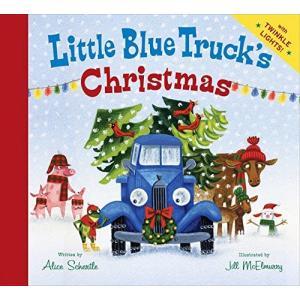 海外製絵本Little Blue Truck's Christmas|planetdream