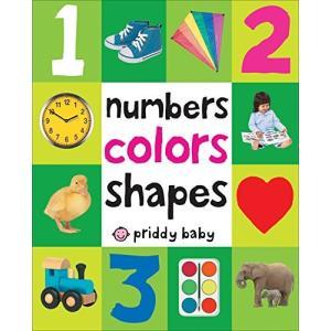 海外製絵本First 100 Padded: Numbers Colors Shapes|planetdream