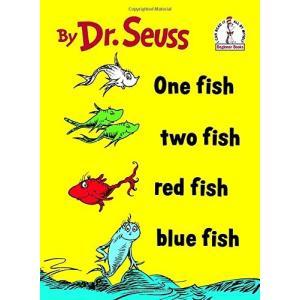 海外製絵本One Fish Two Fish Red Fish Blue Fish (I Can Read It All by Myself)|planetdream