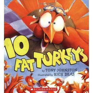 海外製絵本10 Fat Turkeys|planetdream