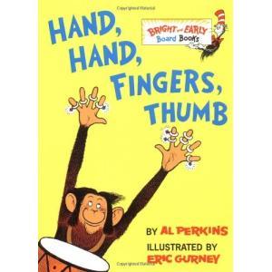 海外製絵本Hand, Hand, Fingers, Thumb (Bright & Early Board Books)|planetdream