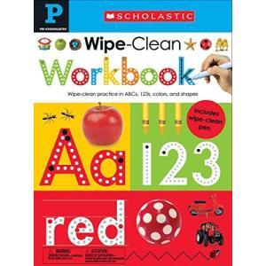 海外製絵本Wipe Clean Workbook: Pre-K (Scholastic Early Learners)|planetdream