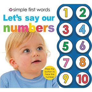 海外製絵本Simple First Words Let's Say Our Numbers|planetdream