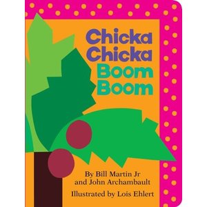 海外製絵本Chicka Chicka Boom Boom (Board Book)|planetdream