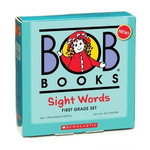 海外製絵本Bob Books: Sight Words, 1st Grade|planetdream