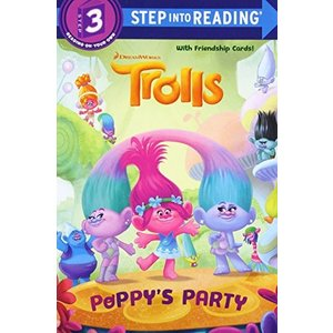 海外製絵本Poppy's Party (DreamWorks Trolls) (Step into Reading)|planetdream