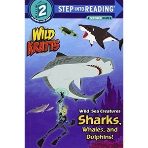 海外製絵本Wild Sea Creatures: Sharks, Whales and Dolphins! (Wild Kratts) (Step into Reading)|planetdream
