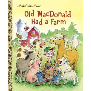 海外製絵本Old MacDonald Had a Farm (Little Golden Book)|planetdream