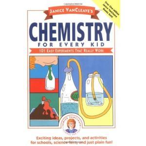 海外製絵本Janice VanCleave's Chemistry for Every Kid: 101 Easy Experiments that Really Work|planetdream
