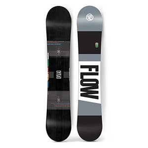 スノーボードFlow 2017 Merc (WIDE) Black Men's All Mountain Snowboard (156)|planetdream