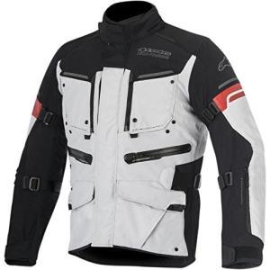アルパインスターズAlpinestars 32040169213L Valparaiso 2 Drystar Jacket (Light Gray/Black, Large)|planetdream