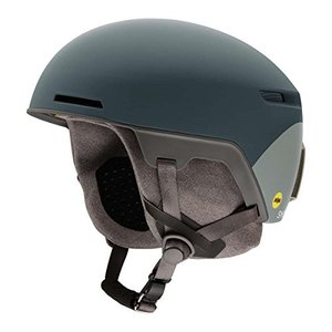 スノーボードSmith Optics Adult Code MIPS Ski Snowmobile Helmet - Matte Thunder Gray Split/Small|planetdream